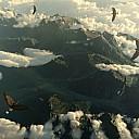 earthporn adler Wolken Falke der Hurensohn Falks Freunde