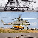 Mil Mi-10 Harke helikopter CCCP-0402 CCCP-Gütesiegel tranporthubschrauber paarungswillig Abschleppschrauber