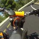 supermoto Steilkurve KTM gopro motorrad wer kann der kann save erwartungen nicht erfüllt Supermotopr0n kann mann mal machen Fährt er einfach weiter Glück organspender handele mit es mieser Typ Bande wallride lucker defensive fahrweise schade eigentlich Gt