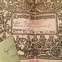 1927 Deutscher Reichstelegraph Sütterlin Berlin 4 Omas Dachboden Bester Dachboden fliesentischbesitzer